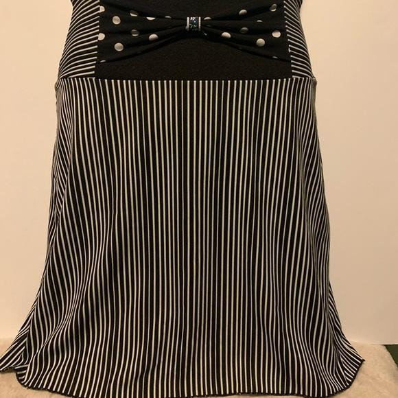 Metamorphose Dresses & Skirts - Metamophose Creations- Striped Mini Skirt-Med